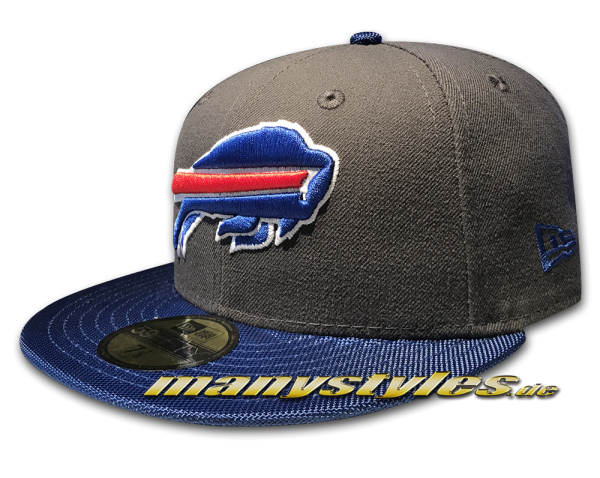 sale retailer b6399 60b10 NEW ERA Buffalo Bills NFL Ballistic Visor Cap official Royal Team Color OTC