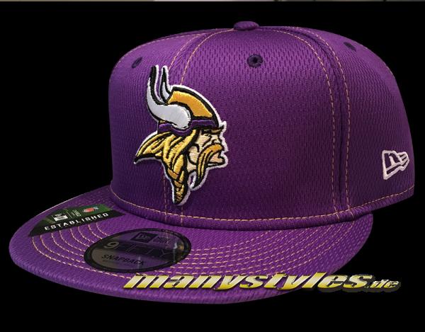 Minnessota Vikings 9FIFTY NFL19 SL RD 950 Snapback Cap OTC Purple Yellow von New Era