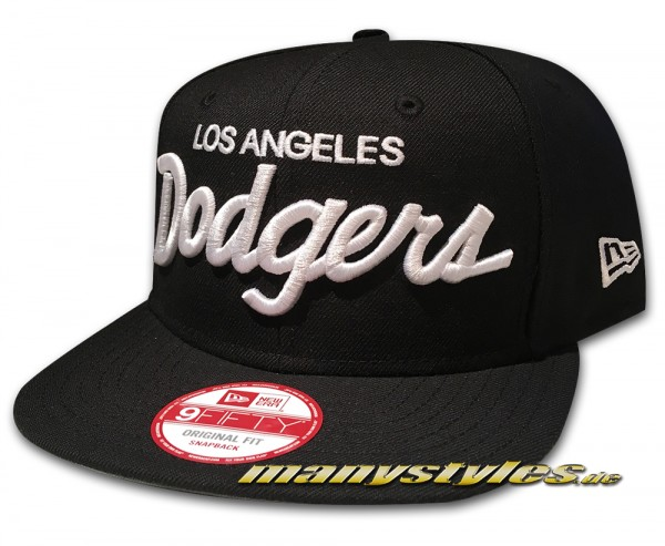 Los Angeles Dodgers 9FIFTY Original Fit Snapback Cap von New Era