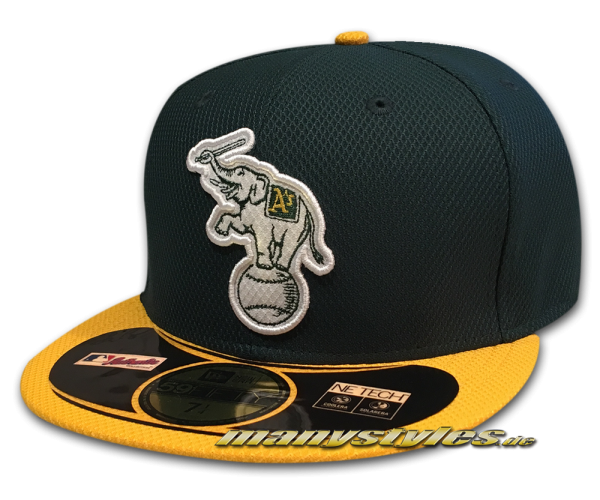 Oakland Athletics 59FIFTY MLB Diamond Era Authentic Alternate Cap Elephant Logo von New Era