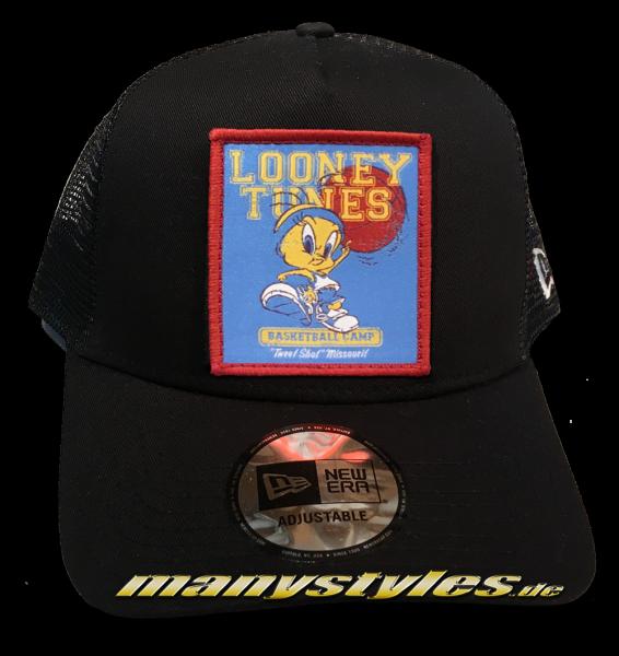Looney Tunes Tweety Trucker Adjustable Cap Black von New Era von New Era