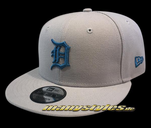 Detroit Tigers MLB League Essential -Snapback Cap Grey Blue von New Era