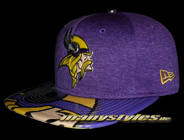 Minnessota Vikings 9FIFTY NFL 2017 Draft OF Snapback Cap