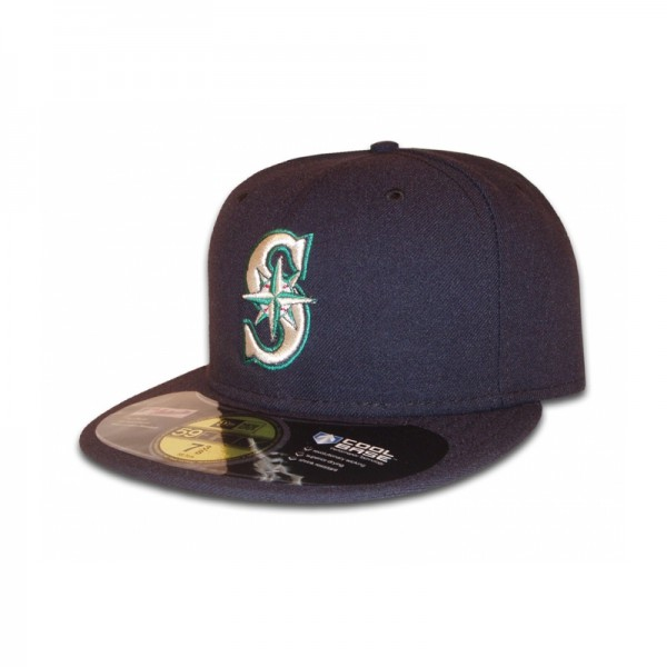 Seattle Mariners 59FIFTY MLB Performance Cap Authentic Game