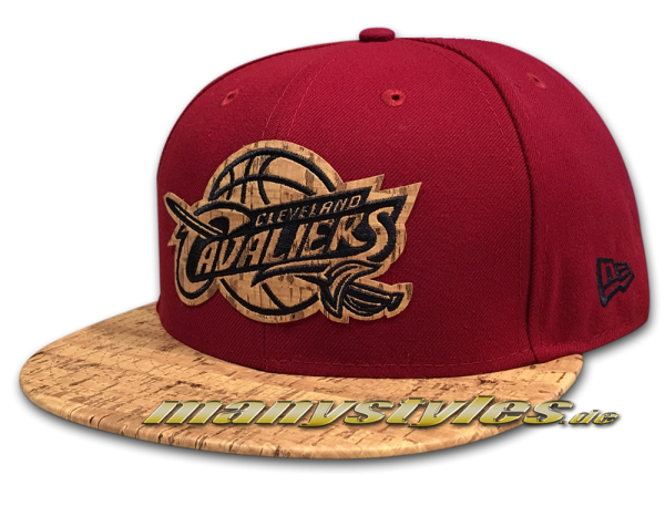 Cleveland Cavaliers 59FIFTY NBA Cap Fitted Cork von New era