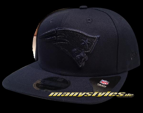 New England PATRIOTS NFL 9FIFTY OF Original Fit Snapback Cap Metallic Mark Tonal Navy von New Era