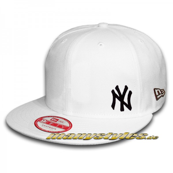 NY Yankees 9FIFTY MLB Flawless White Black Snapback Cap
