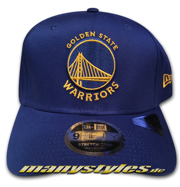 Golden State Warriors NBA 9FIFTY Team Stretch Snapback Cap
