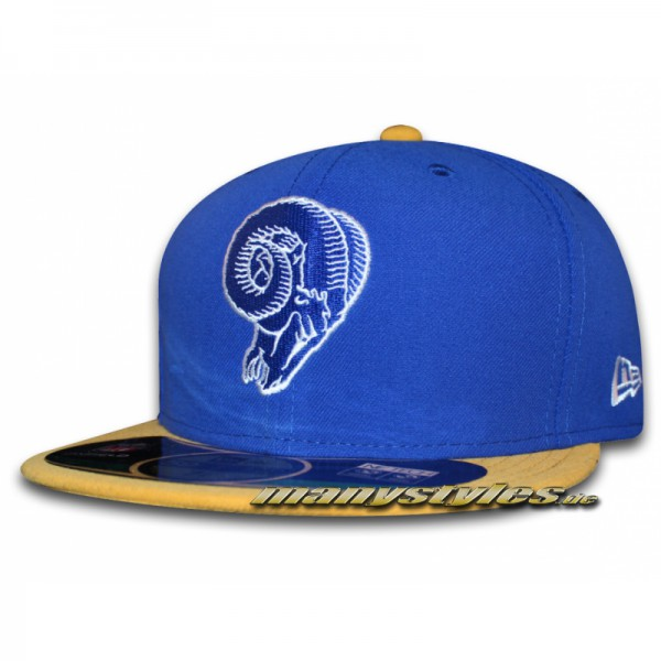 St. Louis Rams 59FIFTY NFL on field Road Authentic Cap
