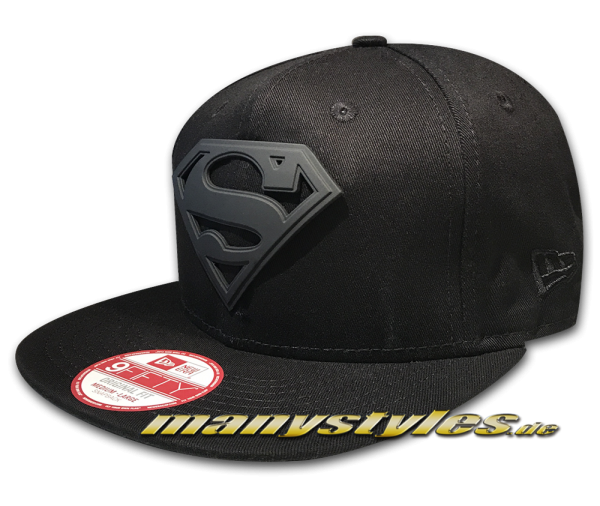Superman DC Comic 9FIFTY Superman Camo Black Metal Snapback Cap