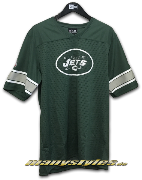New York Jets NFL Team V-Neck Jersey Green