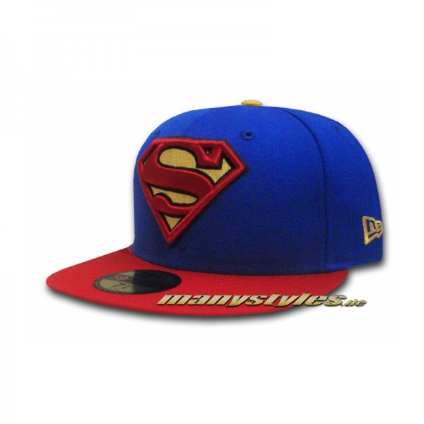 Superman DC Comics 59FIFTY Basic exclusive Team Royal Red Yellow