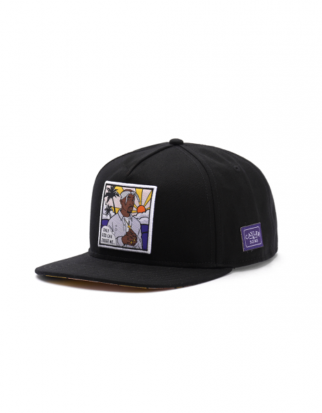 Cayler & Sons Pacenstein 2Pac Snapback Cap Black Multi Colored