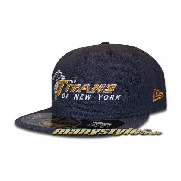 The Titans of New York 59FIFTY Cap Authentic Retro