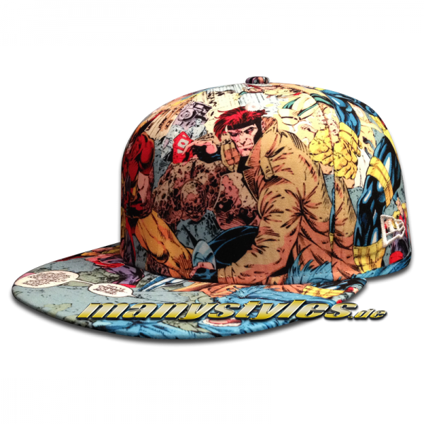 Marvel Comics Cap X Men All Over Sketches Cap #exclusive# von New Era