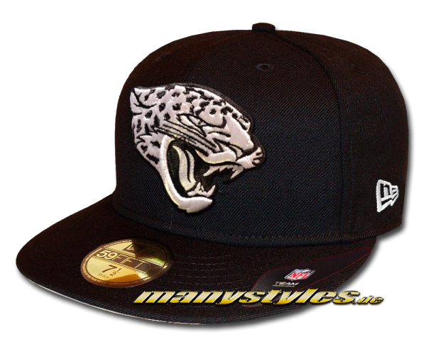 Jacksonville Jaguars 59FIFTY Fitted Cap League Essential Basic Fit2e von New Era Black White