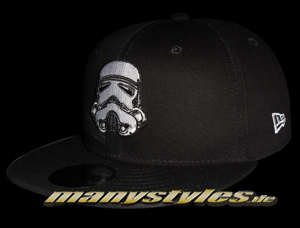 Star Wars Essentials 950 JR Disney Licensed Storm Trooper Black White von New Era