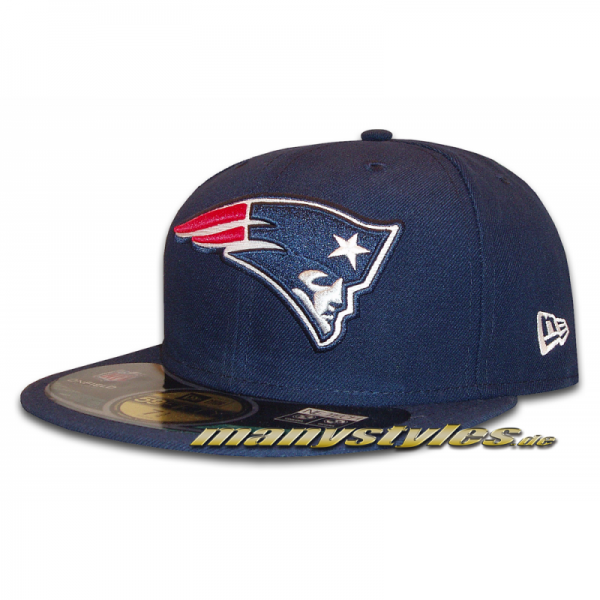 New England PATRIOTS NFL on field Original Game Authentic 59FIFTY Cap