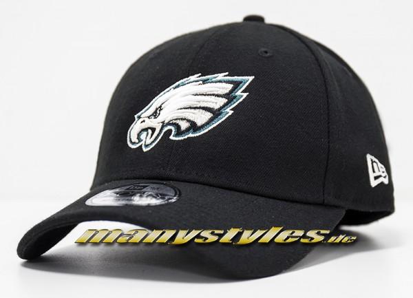 Philadelphia Eagles NFL Vll Superbowl Patch 9Forty Cuved Visor Cap Black von New era