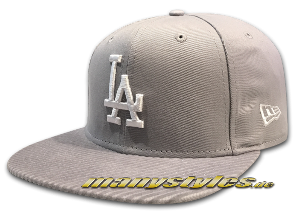 LA Dodgers MLB League Essential 9FIFTY Snapback Cap Flock Vize