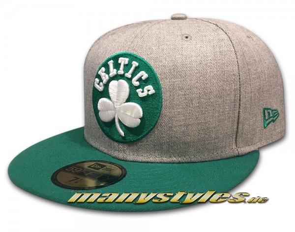 Boston Celtics 59FIFTY NBA Heather Pop Chambrak Cap