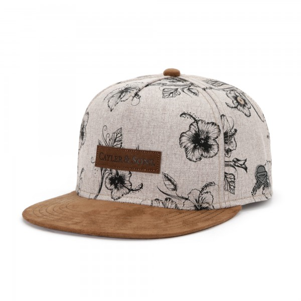 cayler-and-sons-&-son-vibin-snapback-cap-stone-sand-brown
