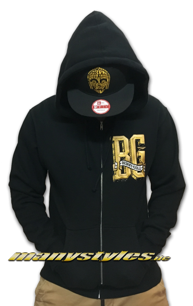 Benny Gold Hood Hooded Black Gold
