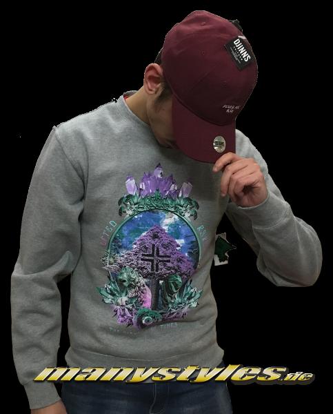 LRG Charcoal Grey Diamond Sweater