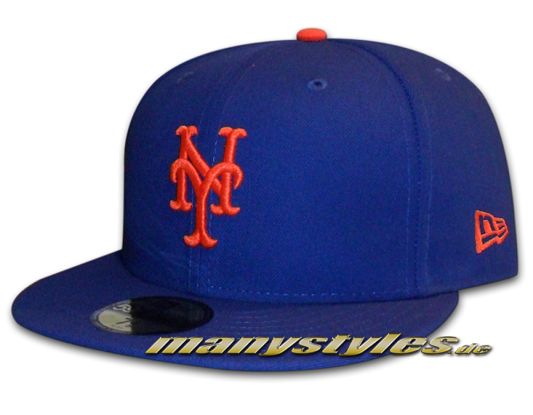 NY Mets 59FIFTY MLB Authentic NE Team Structure Cap Game