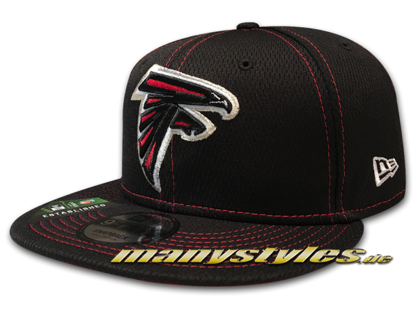 Atlanta Falcons 9FIFTY NFL19 SL RD 950 Snapback Cap Black Red von New Era