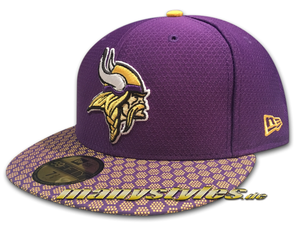 Minessota Vikings 59FIFTY NFL Sideline 2017 On Field new era Cap