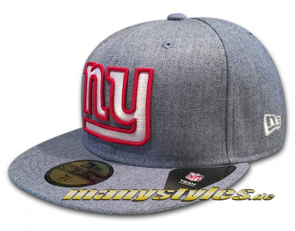 NY Giants NFL 59fifty New Era Cap light Denim frontside