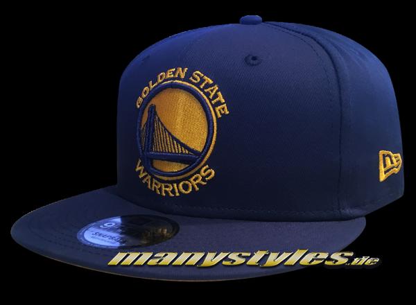 Golden State Warriors NBA Team Classic Snap Snapback Cap Black OTC Original Team Color