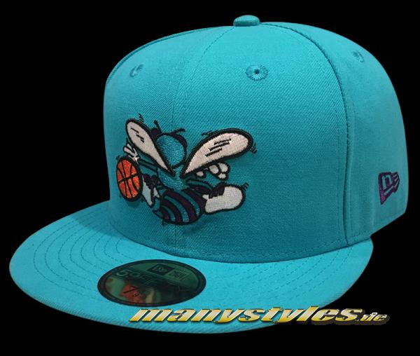 Charlotte Hornets nba hwc hardwood classics wyb reverse optic otc original team color blue