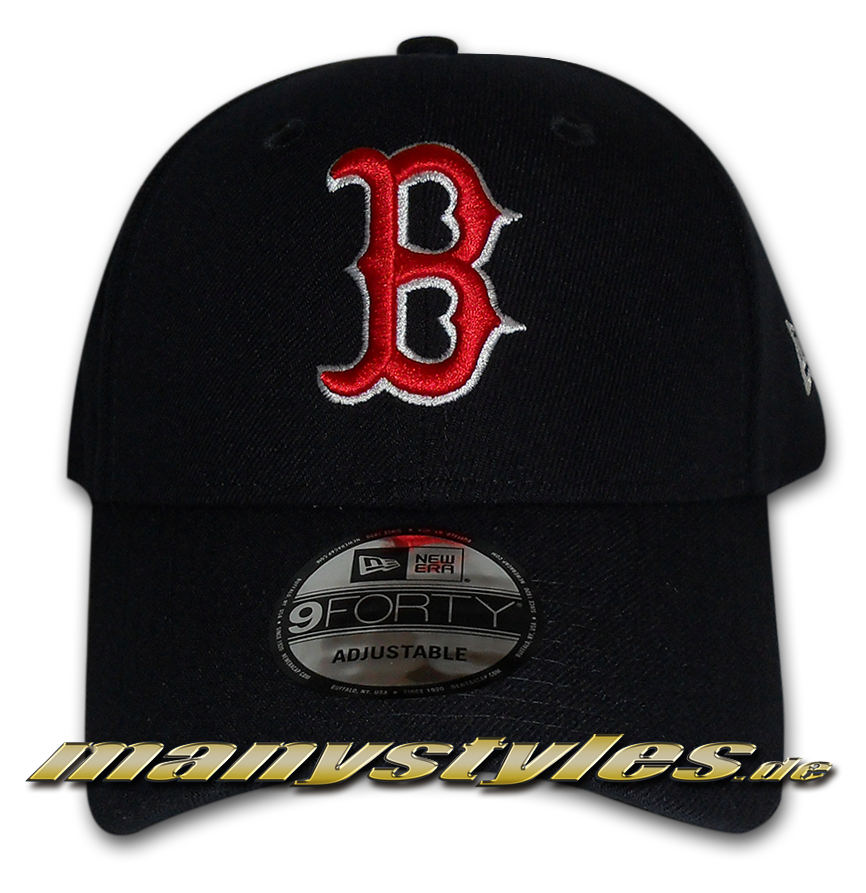 56a06a44602 Vorschau  Boston Red SoxThe League Essentials MLB Curved Visor 9Fourty  Adjustable Cap von New era ...