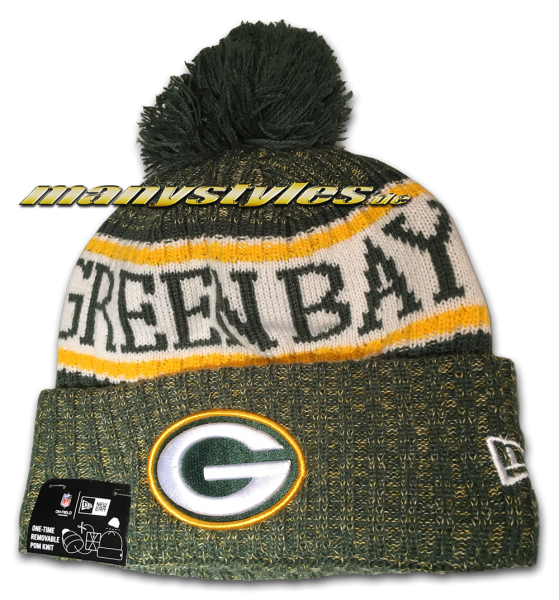 Greenbay Packers NFL Sideline 2018 Beenie von New Era