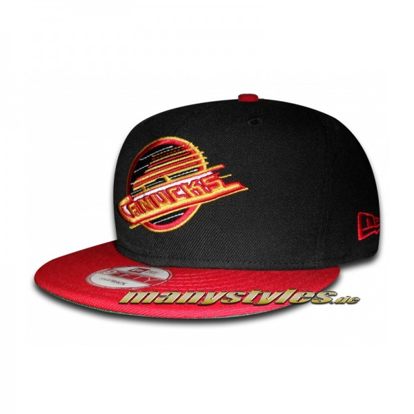 Vancouver Canucks NHL 5 Star Championship exclusive 9FIFTY Snapback Cap Black