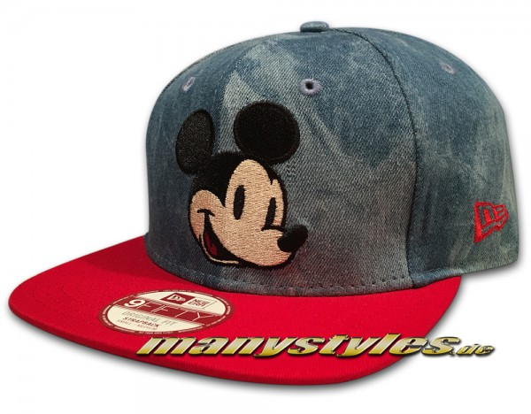 Disney Mickey Mouse 9fifty Original fit Strapback Snapback Cap frontside