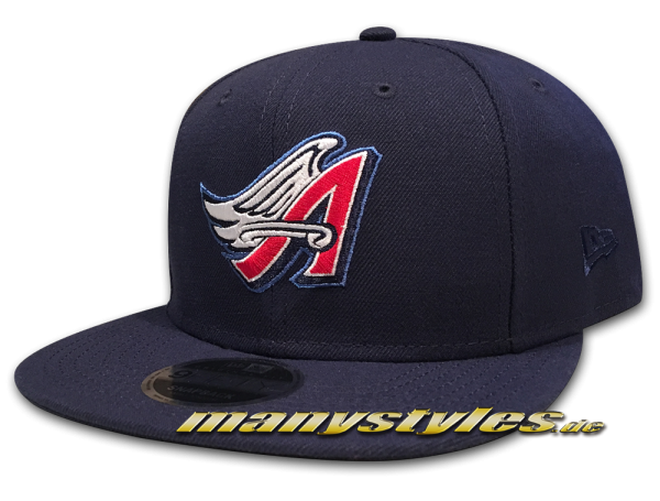 Anaheim Angels now California ANGELS New Era 9FIFTY Snapback Cap Navy Red White OTC Original Team Color von New Era