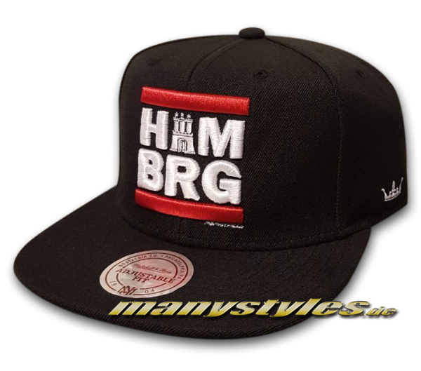 HH Run Snapback Cap manystyles exclusive von Mitchell and Ness special edition