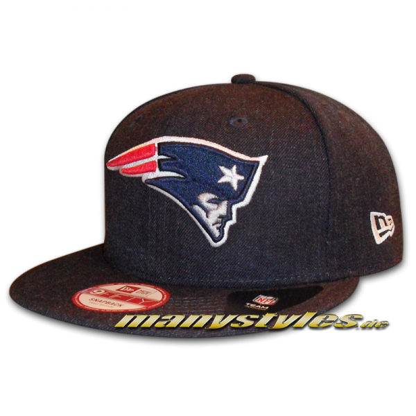New England PATRIOTS NFL Team Heather Snap 9FIFTY Snapback Cap