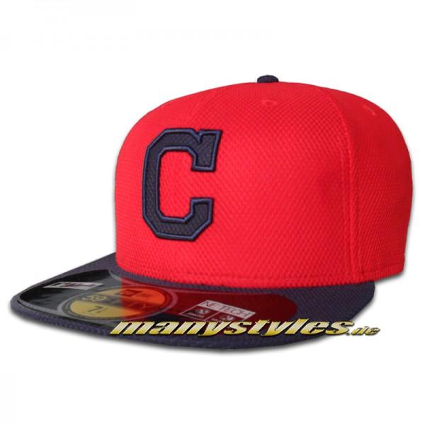 Cleveland INDIANS New Era Performance Diamond Era Authentic on field Cap
