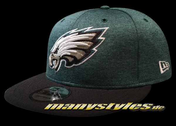Philadelphia Eagles 9FIFTY Home NFL Sideline 2018 Snapback Cap von New Era