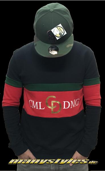Criminal Damage Dolfo Logo Sweater