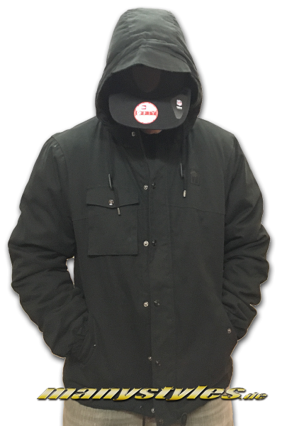Mahagony Apparel Parka Jacket Black