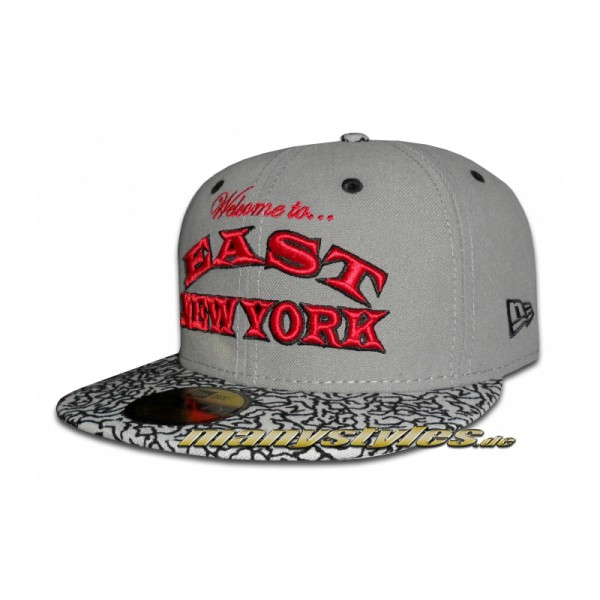NY City Line 59FIFTY Cap Brooklyn Welcome to the East New York Elephant exclusive