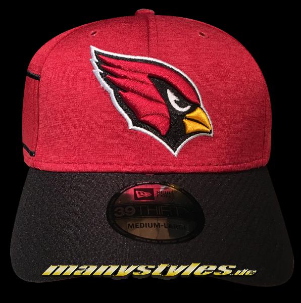 Arizona Cardinals 39THIRTY NFL Sideline 2018 Curved Visor Cap