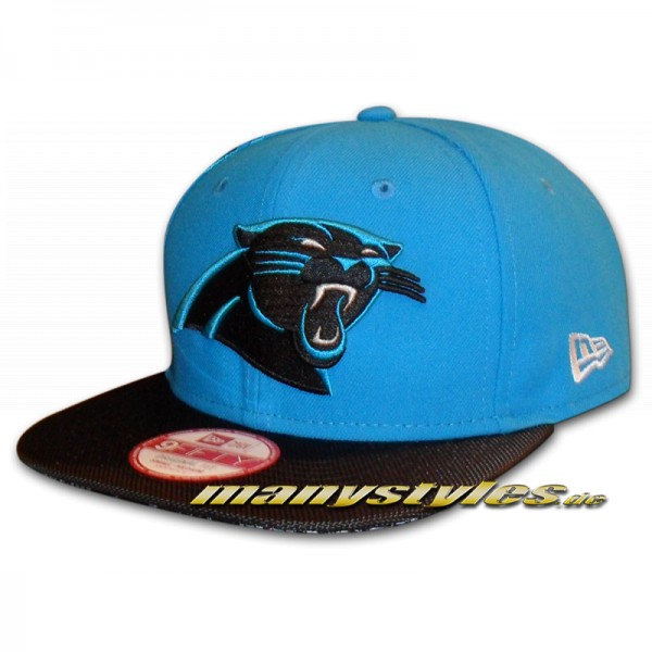 Carolina Panthers 9FIFTY NFL on field Sideline Snapback Cap