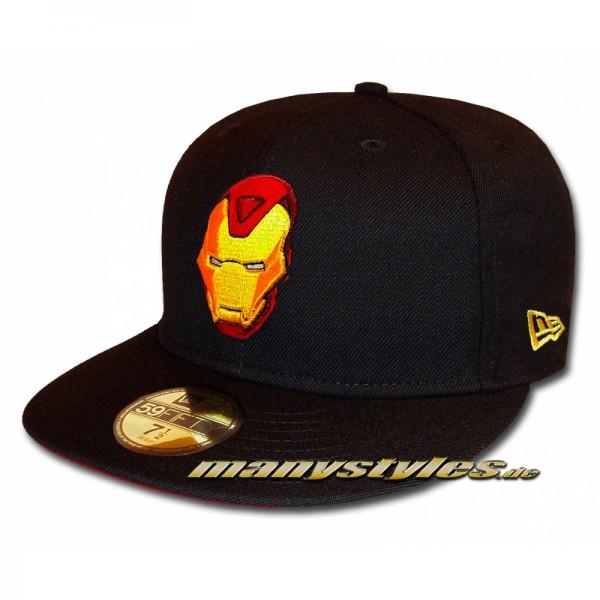 Marvel Comic Art 59FIFTY The Golden Avenger Ironman Basic exclusive Cap